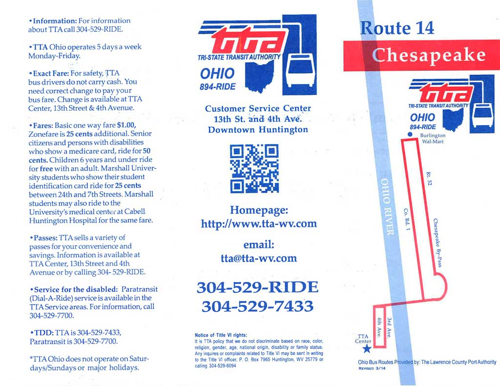Route 14 - Pullman Square, Chesapeake, Burlington, Wal-Mart