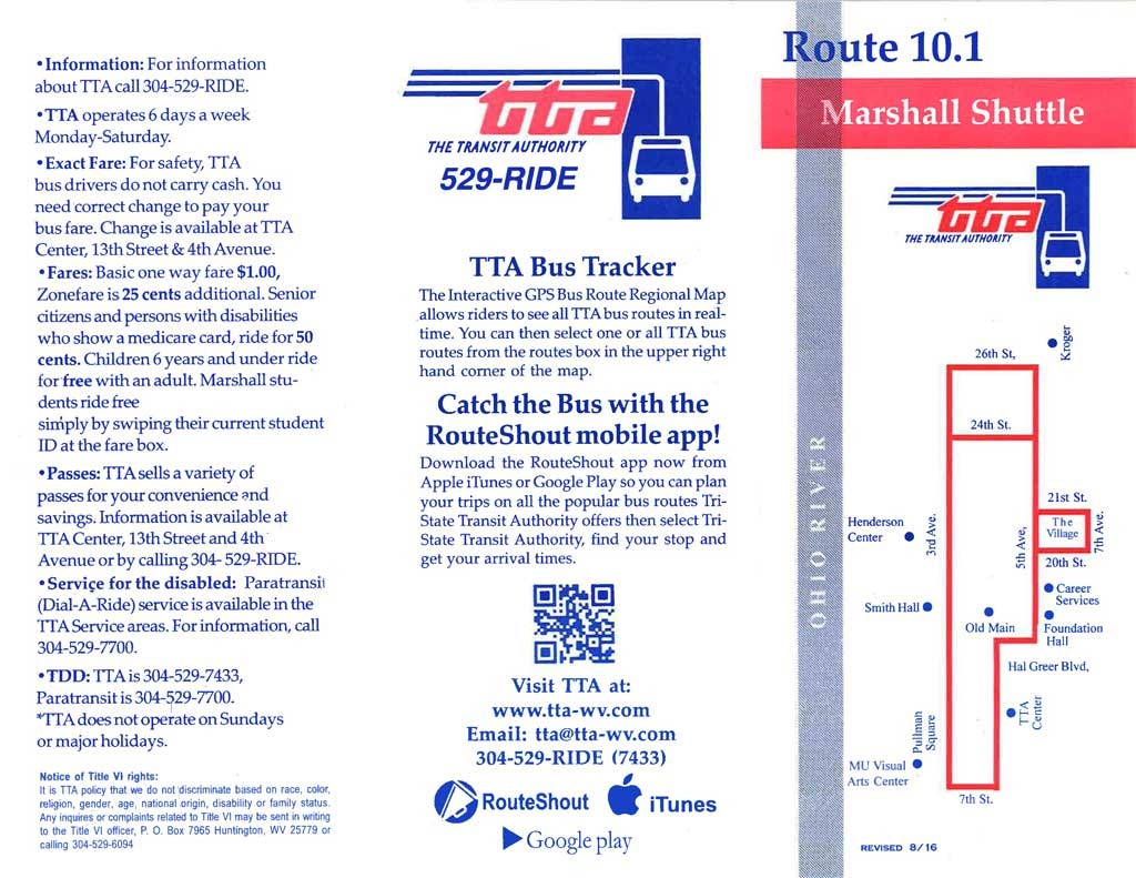 Route 10.1 - Marshall Shuttle