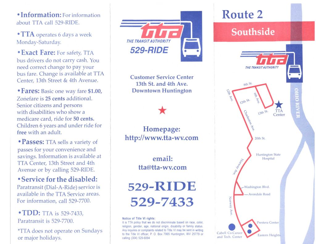 TTA Route 2 - Southside