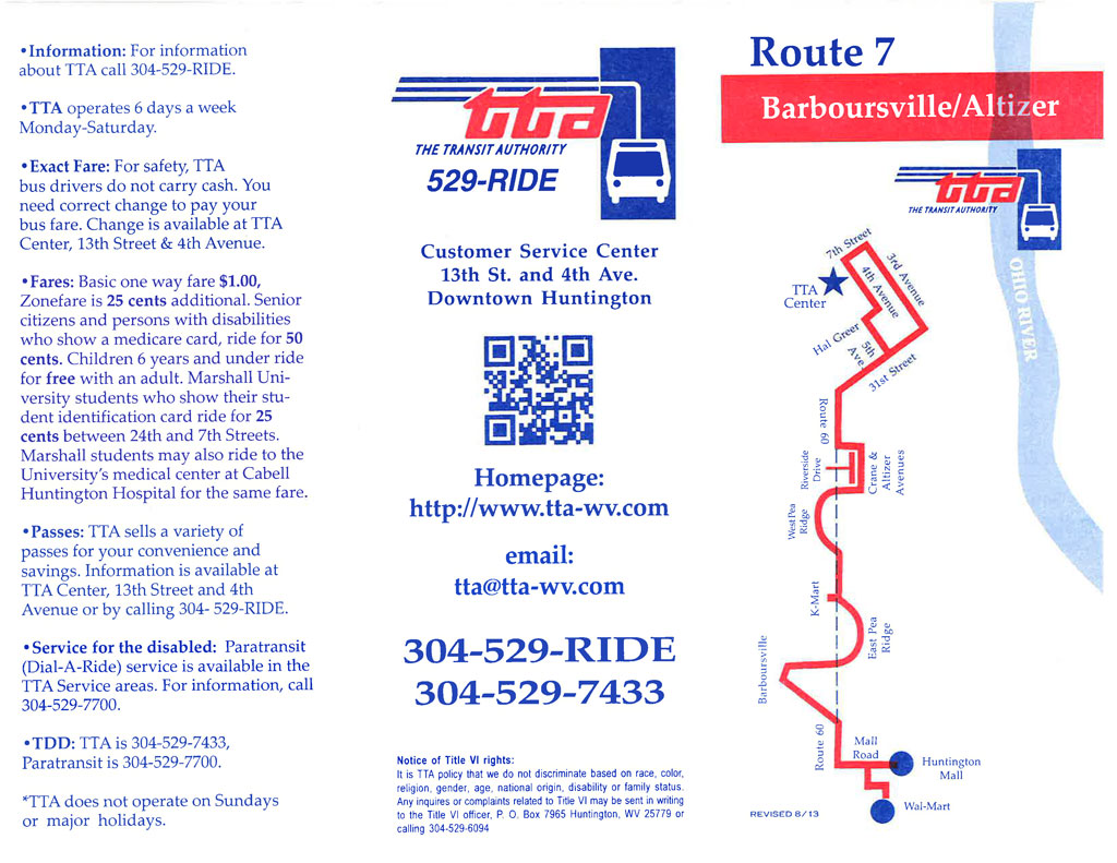 Route 7 - Barboursville
