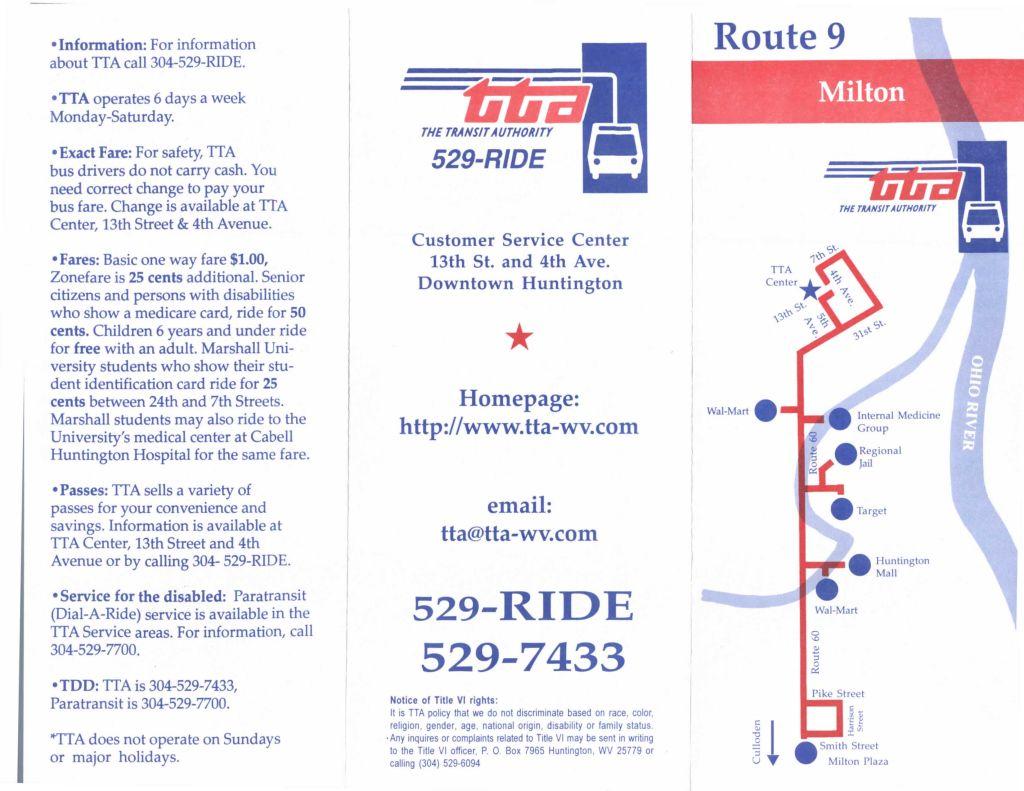 Route 9 - Milton